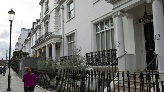 Дом Гаджиевой в Лондоне
