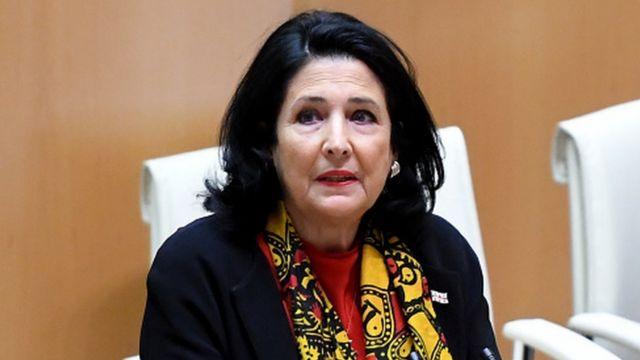 Первое заседание новоизбранного парламента открыла президент Грузии Саломе Зурабишвили