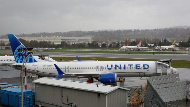 Самолет авикомпании United