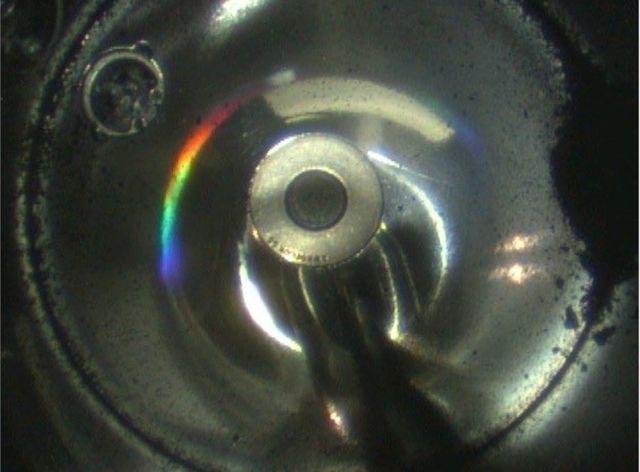 Частицы грунта в капсуле