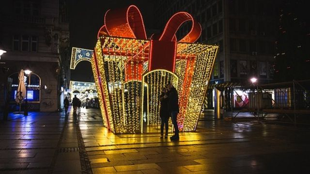 Рождество в Белграде