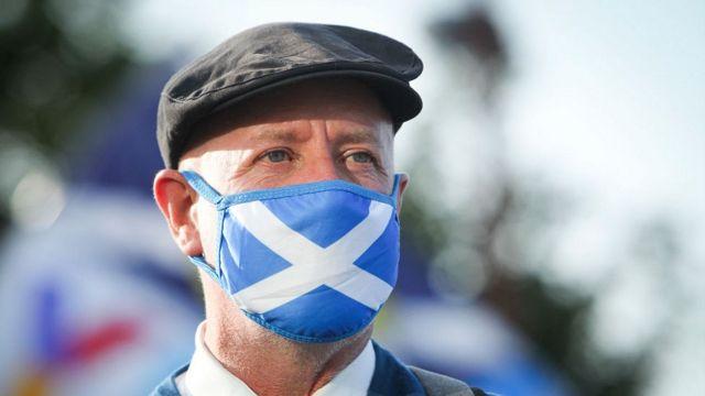 116094124 scots rally sep2020 getty Новости BBC Великобритания, коронавирус в мире, Шотландия