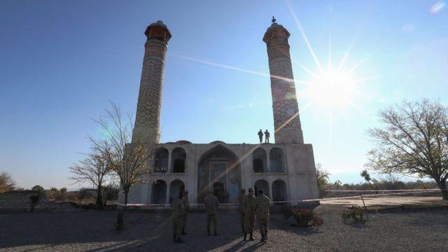 Мечеть в Агдаме