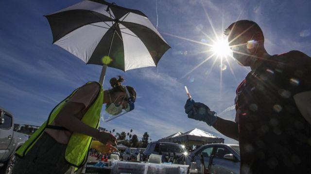 вакцинация в калифорнии