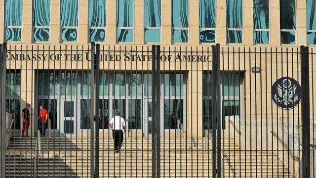 Посольство США в Гаване