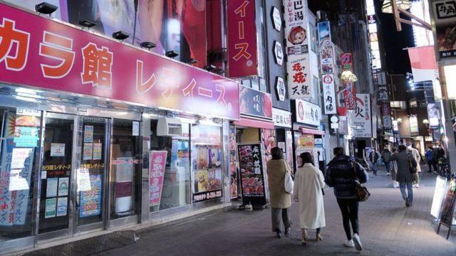 Магазины в Токио