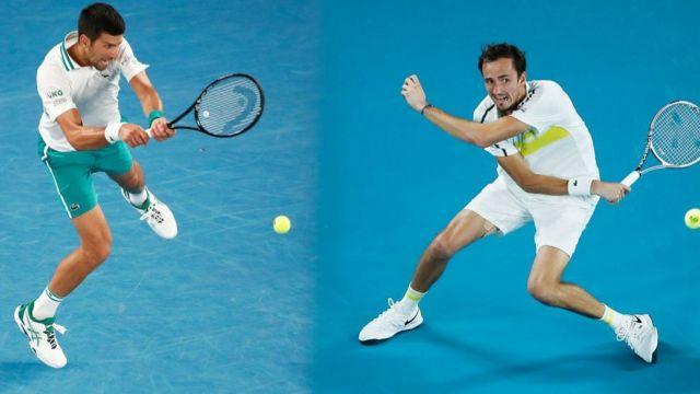 Новак Джокович ни разу не проигрывал в Открытом чемпионате Австралии, а Даниил Медведев впервые в карьере оказался в финале одного из четырех турниров Большого шлема