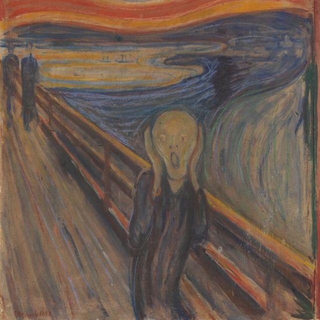 """""""Крик"""" - одна из самых известных картин в истории мирового искусства"""