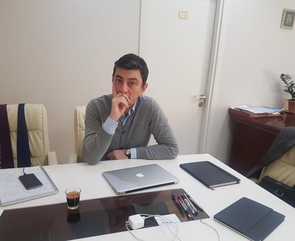 Giorgi Gakharia 2015 #политика featured, Георгий Гахария, Грузинская мечта, Единое Национальное Движение, Ника Мелия