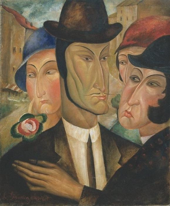 Lado Gudiashvili 1 #art живопись, искусство, Ладо Гудиашвили