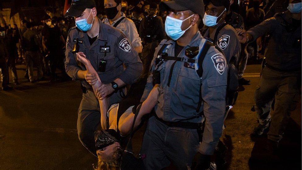 Протесты в Израиле
