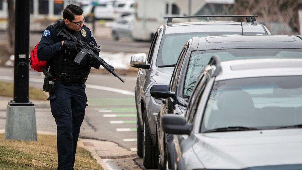 Полицейский в Колорадо