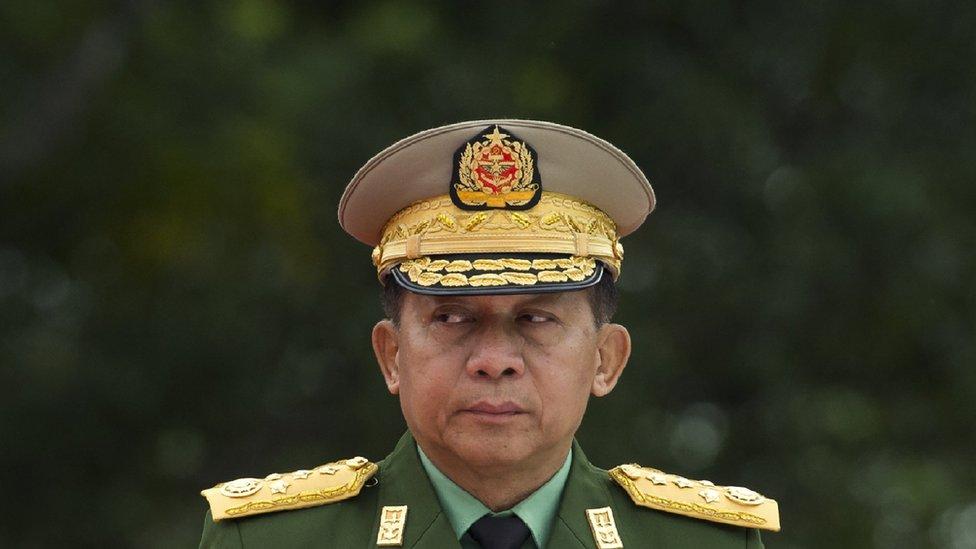 Главнокомандующий армией Мьянмы Мин Аун Хлаин