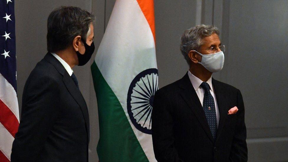 глава МИД Индии и Блинкен