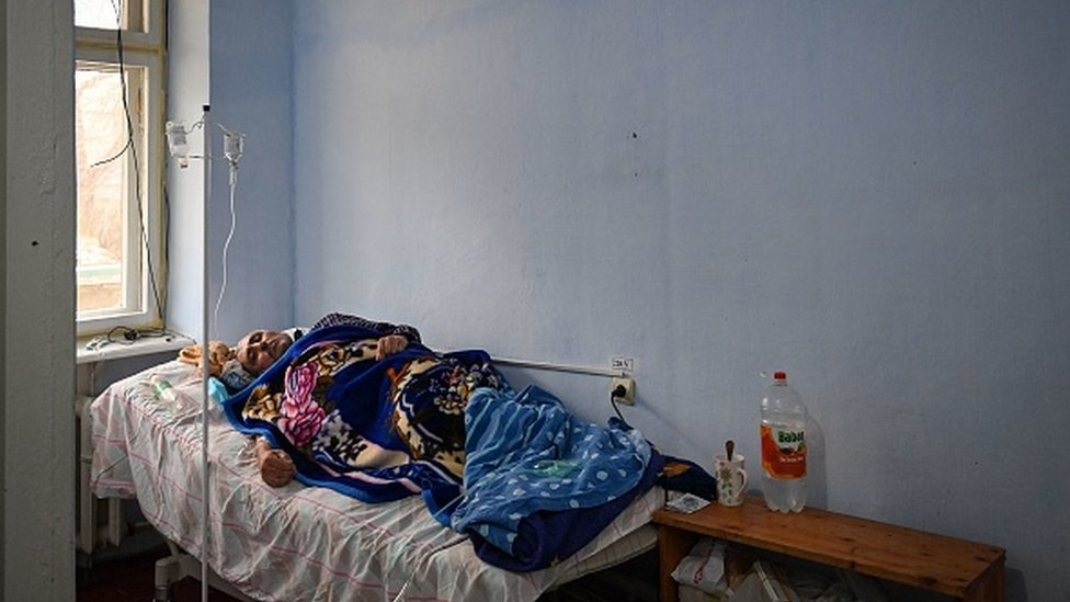 Пациентка с Covid-19 в городе Леова