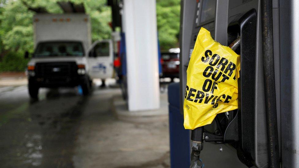 Из-за хакерского нападения на Восточном побережье США начались перебои с топливом