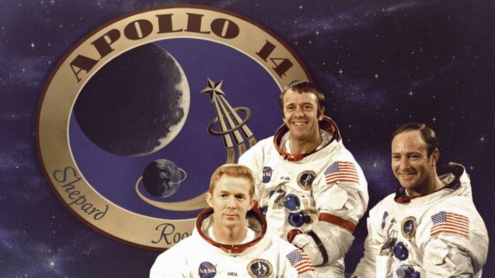 """Экипаж миссии """"Аполлон-14"""""""