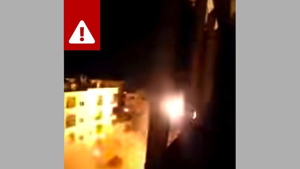 фрагмент видео из Сирии