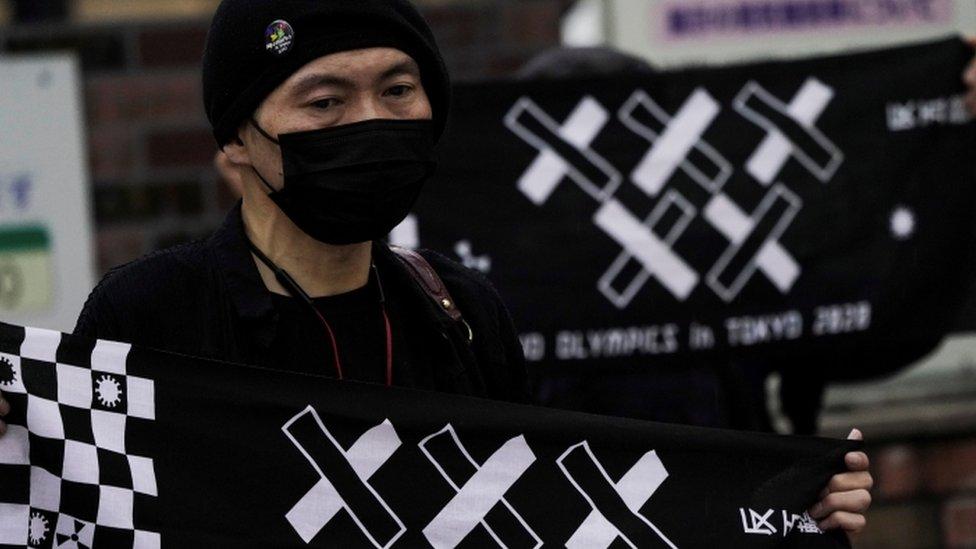 протест против олимпиады