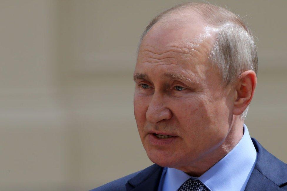 Владимир Путин в Петербурге