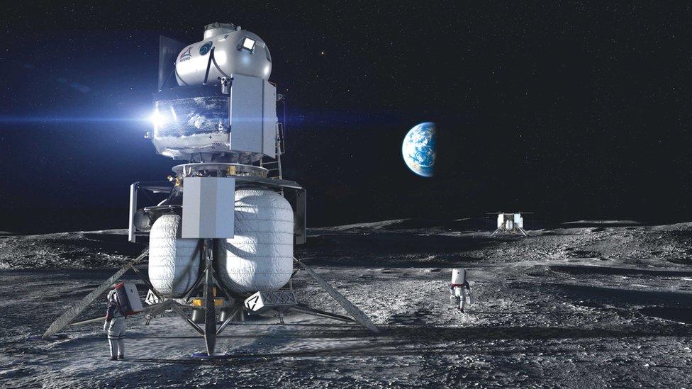 Посадочный модуль Blue Origin