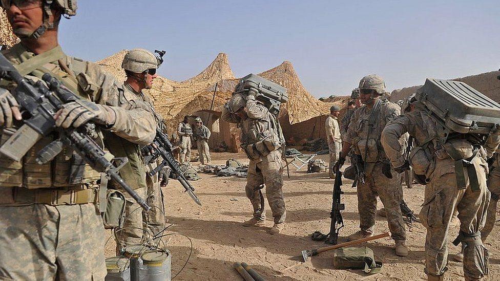 Американский контингент в Афганистане
