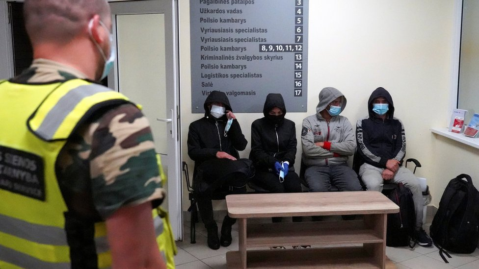 119320069 migranti litva reuters Новости BBC Беларусь, Литва