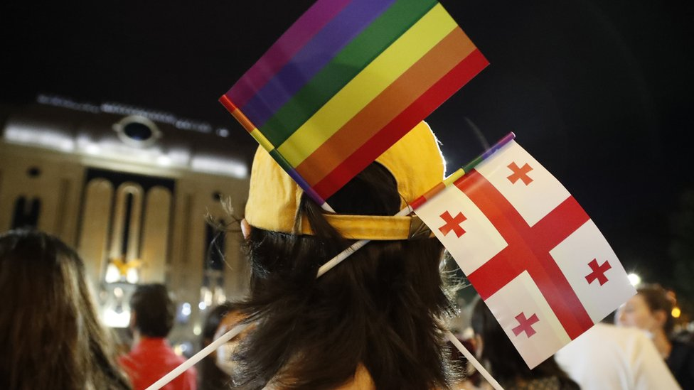 Акция протеста против действий радикалов в отношении ЛГБТ-активистов
