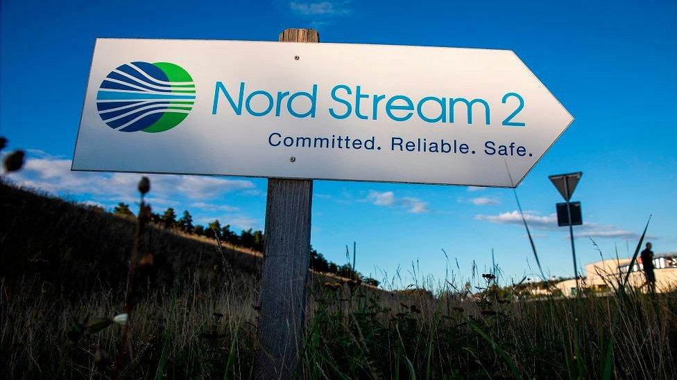 119523675 nord stream sign getty Новости BBC германия, Северный поток, сша