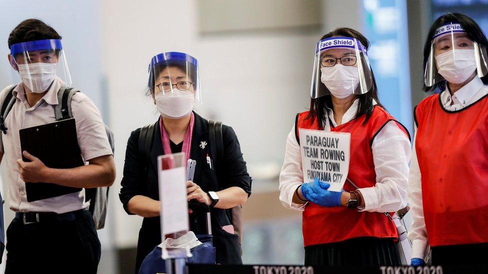 119540261 mediaitem119540260 Новости BBC Covid-19, коронавирус, олимпиада, Токио, Япония