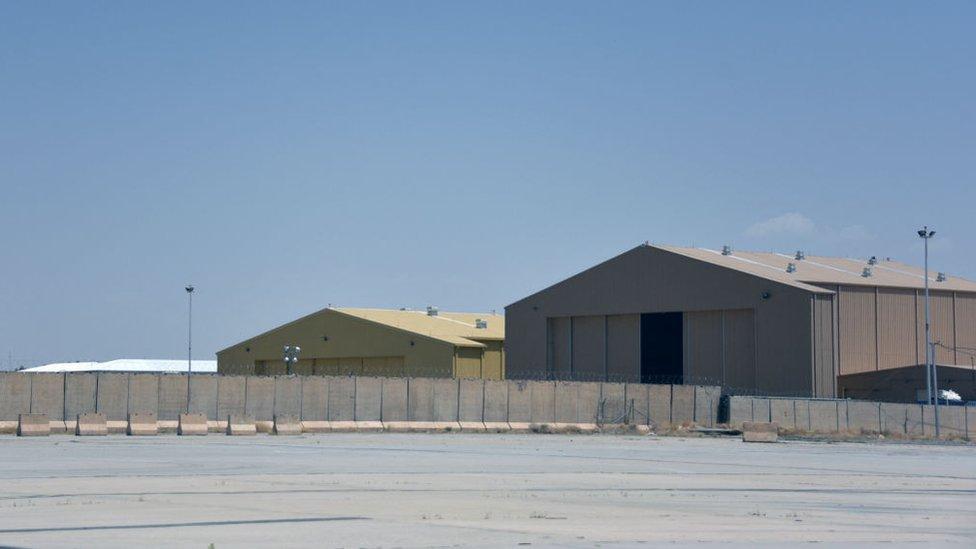 Опустевшая американская военная база в Кагдагаре