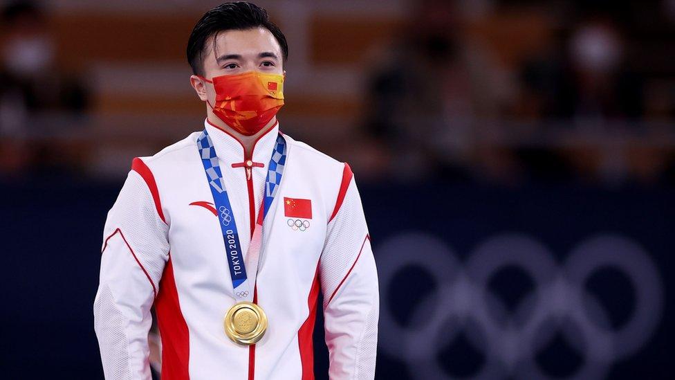 Золотой призер Олимпиады в Токио китаец Лю Ян