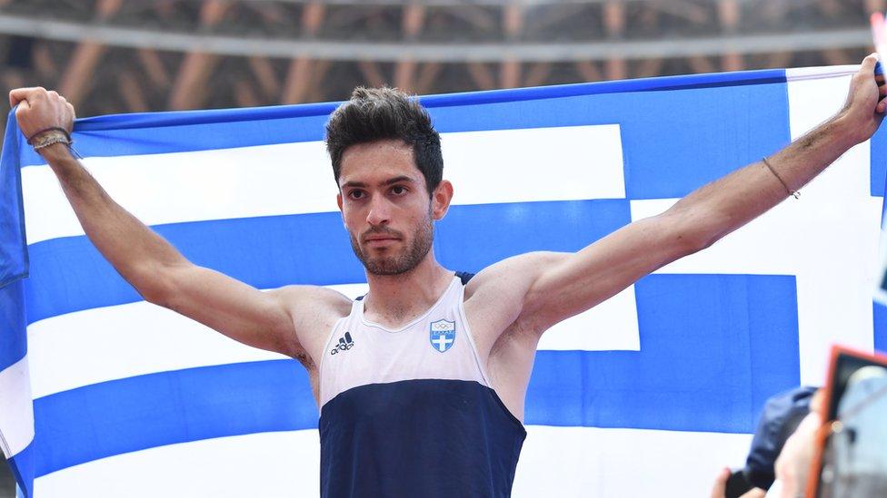Золотая медаль у Греции