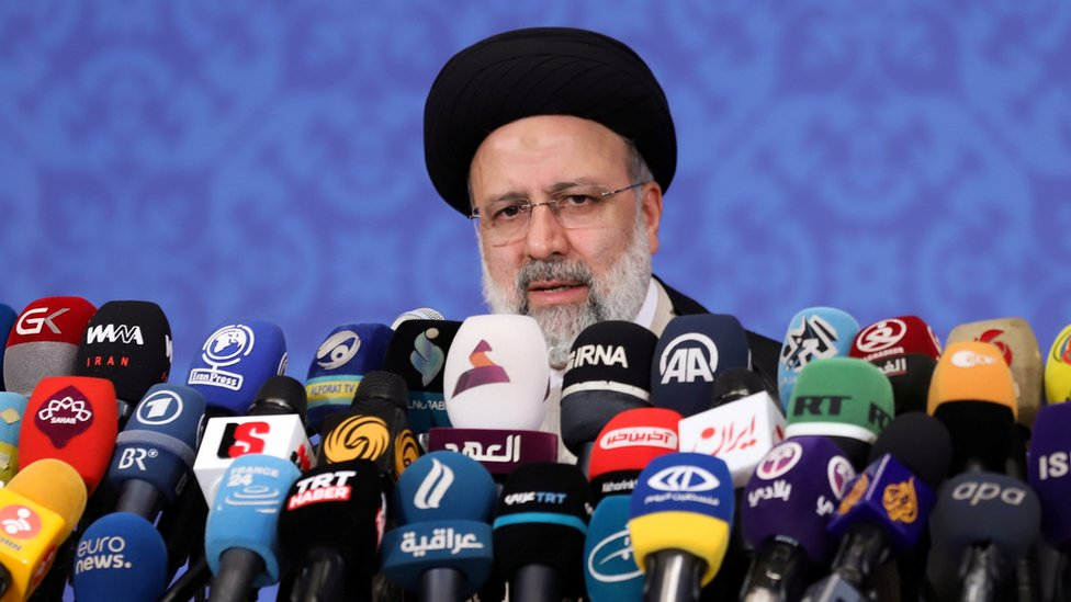 Избранный президент Ирана Эбрахим Раиси