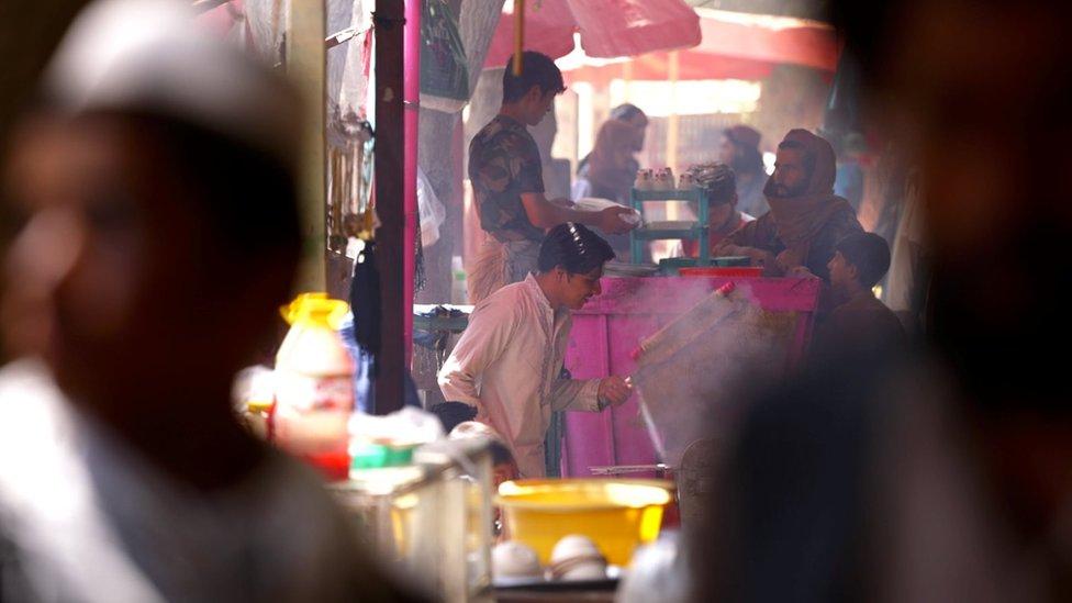 Рынок в Балхе