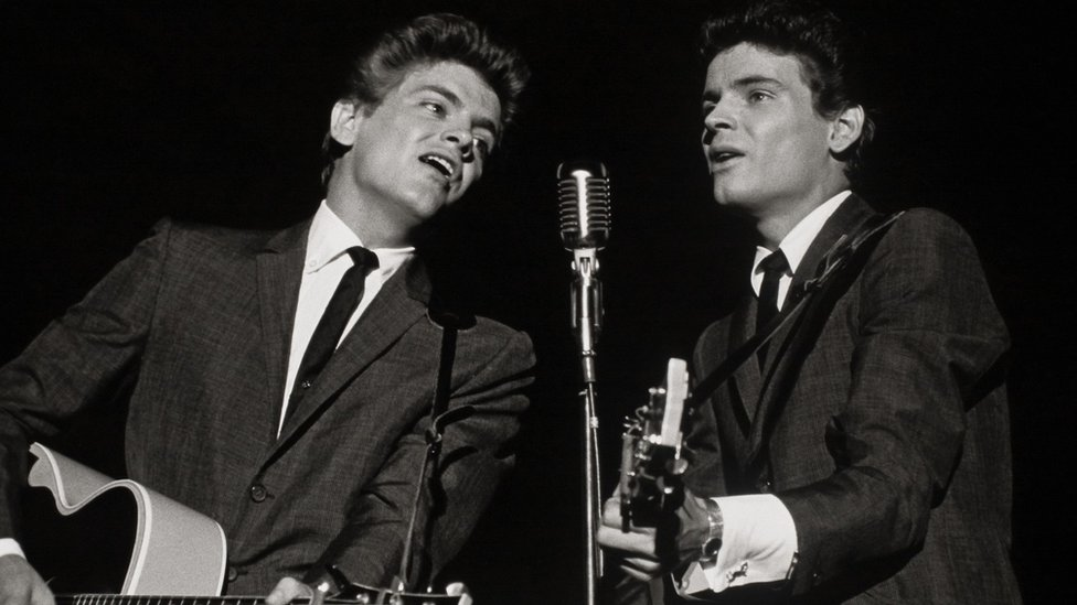 Дон и Фил Эверли во время концерта в Нью-Йорке