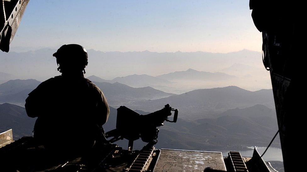 Американские военные и геологи облетели весь Афганистан