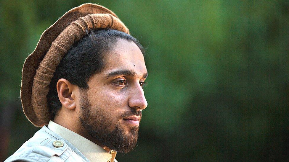 A portrait of Ahmad Massoud, Panjshir Valley, Afghanistan, September 5, 2019