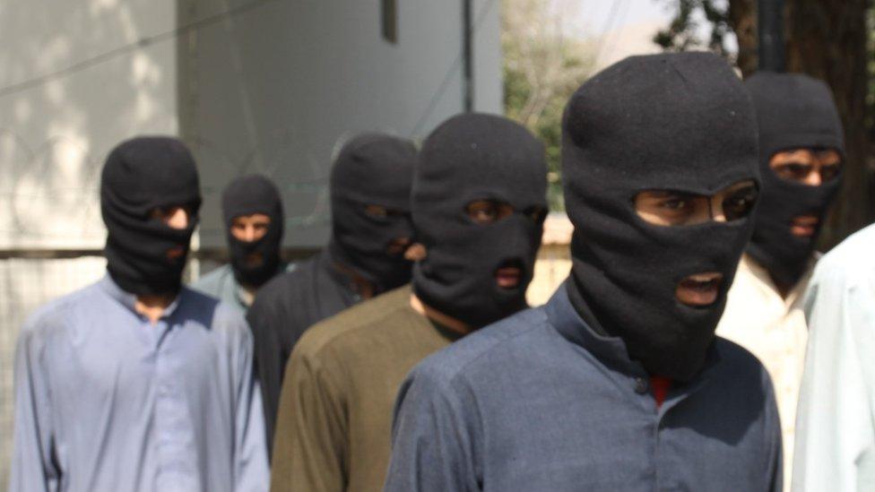 Подозреваемые боевики ИГ