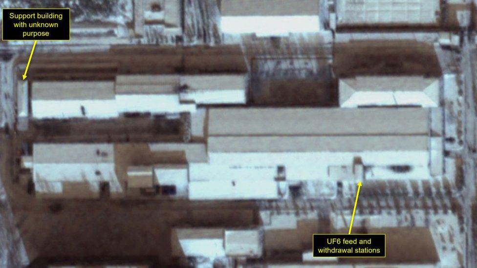 Спутниковый снимок Йонбёна, декабрь 2019 г.
