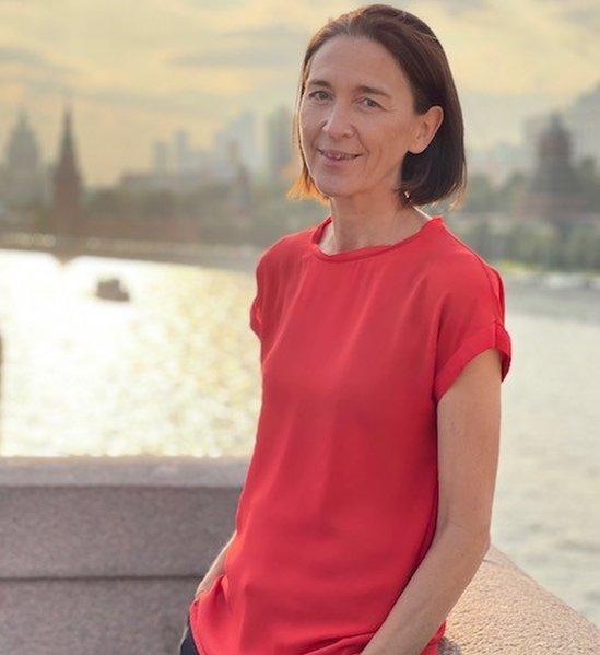 Сара Рейнсфорд в Москве (архивное фото)