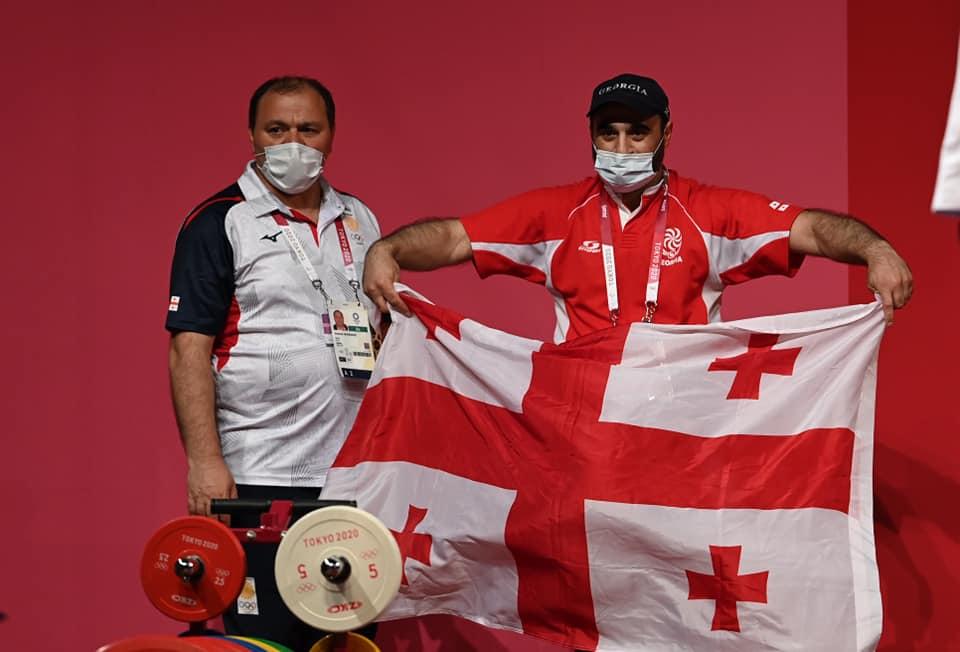 225823931 3783555388415442 3120684424502675222 n #новости Лаша Талахадзе, Олимпиада в Токио, спорт