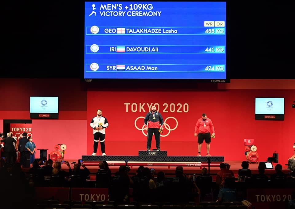 227028435 3783555135082134 3167445635981637938 n #новости Лаша Талахадзе, Олимпиада в Токио, спорт