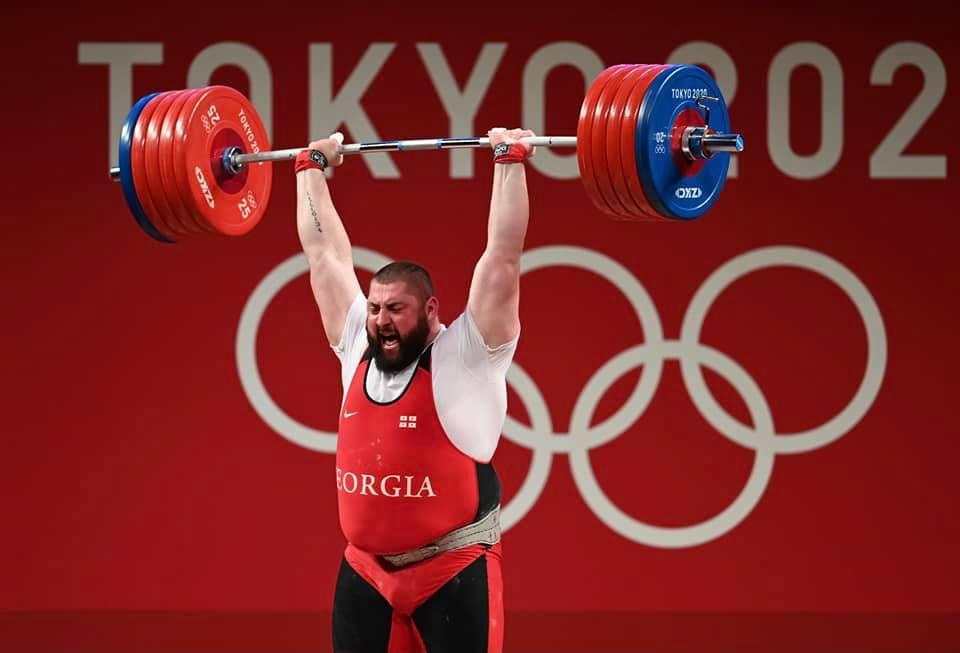 Lasha Talakhadze 213 #новости Лаша Талахадзе, Олимпиада в Токио, спорт