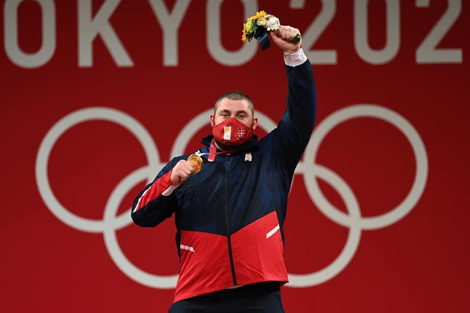 Lasha Talakhadze 2133 #новости Лаша Талахадзе, Олимпиада в Токио, спорт