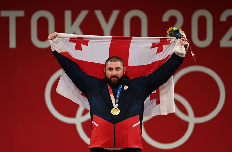 Lasha Talakhadze 2134 #новости Лаша Талахадзе, Олимпиада в Токио, спорт