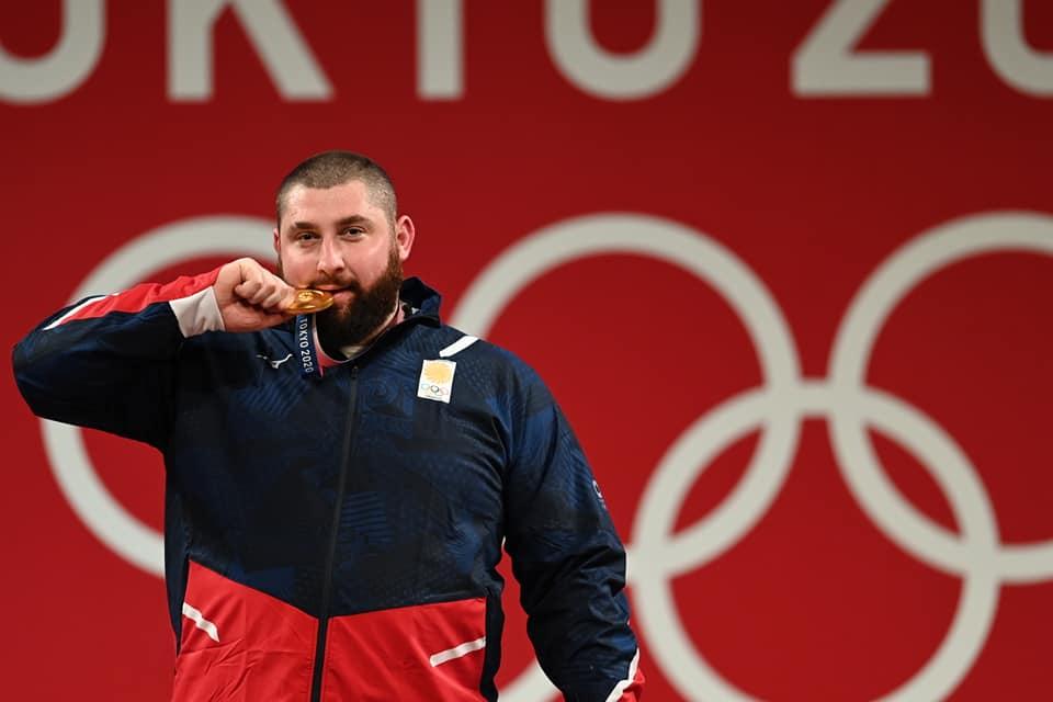 Lasha Talakhadze 2135 #новости Лаша Талахадзе, Олимпиада в Токио, спорт