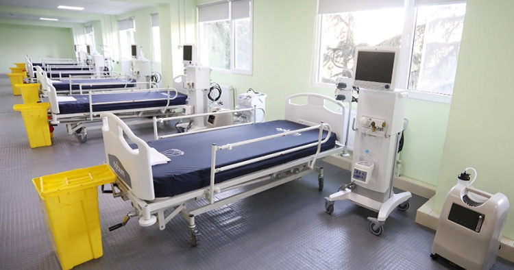 covid clinic #новости Covid-19, коронавирус в Грузии