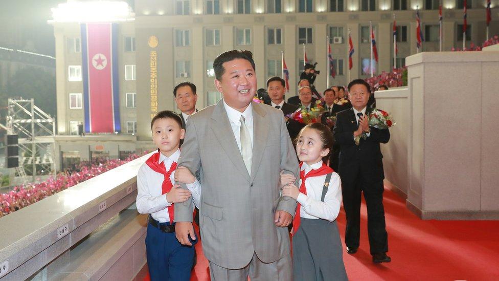 Ким Чен Ын и дети
