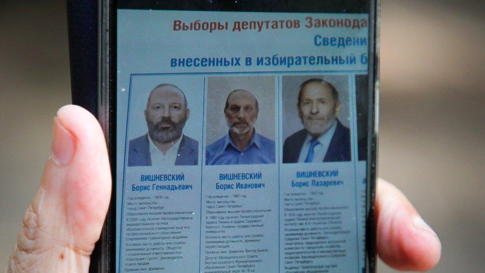 Борис Лазаревич Вишневский и кандидаты-клоны